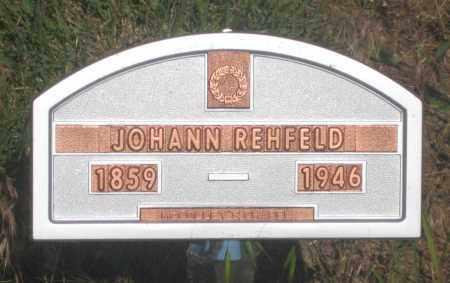 REHFELD, JOHANN - Fall River County, South Dakota | JOHANN REHFELD - South Dakota Gravestone Photos