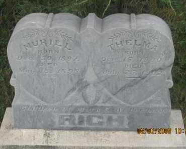 RICH, MURIEL - Fall River County, South Dakota | MURIEL RICH - South Dakota Gravestone Photos