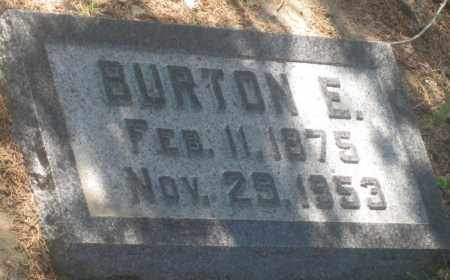 ROBINS, BURTON  E. - Fall River County, South Dakota   BURTON  E. ROBINS - South Dakota Gravestone Photos