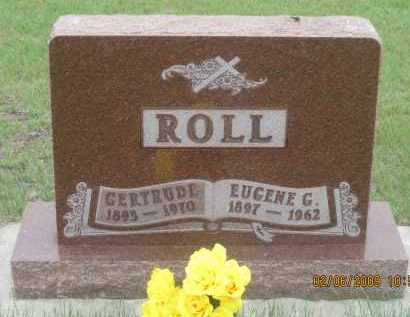 ROLL, GERTRUDE - Fall River County, South Dakota | GERTRUDE ROLL - South Dakota Gravestone Photos