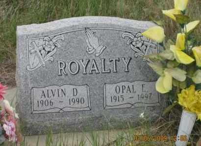 ROYALTY, ALVIN D. - Fall River County, South Dakota | ALVIN D. ROYALTY - South Dakota Gravestone Photos