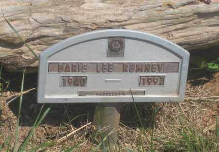RUMNEY, BARIE LEE - Fall River County, South Dakota | BARIE LEE RUMNEY - South Dakota Gravestone Photos