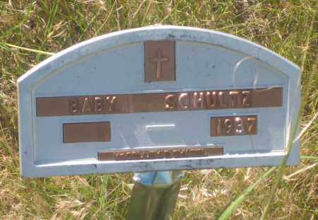 SCHULTZ, BABY - Fall River County, South Dakota   BABY SCHULTZ - South Dakota Gravestone Photos