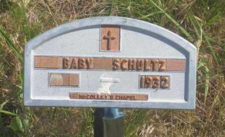 SCHULTZ, BABY - Fall River County, South Dakota | BABY SCHULTZ - South Dakota Gravestone Photos