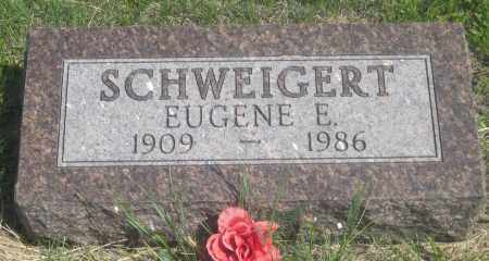 SCHWEIGERT, EUGENE  E. - Fall River County, South Dakota | EUGENE  E. SCHWEIGERT - South Dakota Gravestone Photos