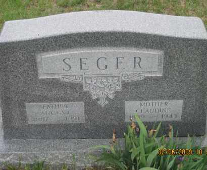 SEGER, AUGUST - Fall River County, South Dakota | AUGUST SEGER - South Dakota Gravestone Photos