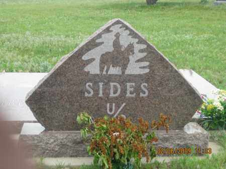 SIDES, FAMILY STONE - Fall River County, South Dakota | FAMILY STONE SIDES - South Dakota Gravestone Photos