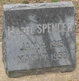 SPENCER, HAZEL - Fall River County, South Dakota | HAZEL SPENCER - South Dakota Gravestone Photos