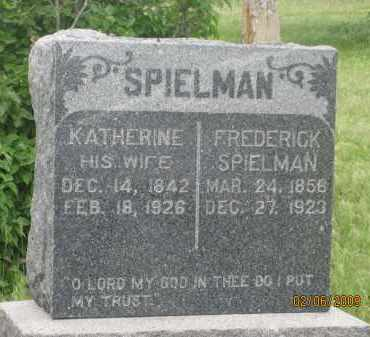 SPIELMAN, FREDERICK - Fall River County, South Dakota | FREDERICK SPIELMAN - South Dakota Gravestone Photos
