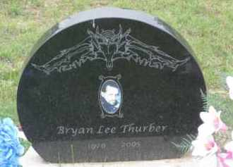 THURBER, BRYAN  LEE - Fall River County, South Dakota | BRYAN  LEE THURBER - South Dakota Gravestone Photos