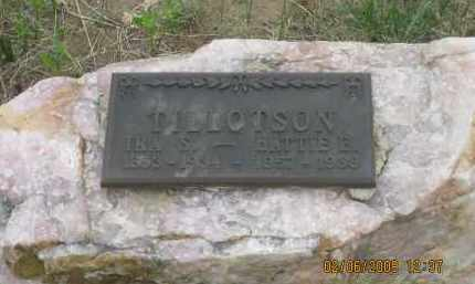 TILLOTSON, HATTIE E. - Fall River County, South Dakota | HATTIE E. TILLOTSON - South Dakota Gravestone Photos