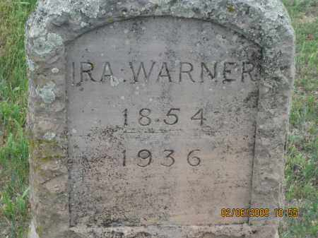 WARNER, IRA - Fall River County, South Dakota | IRA WARNER - South Dakota Gravestone Photos