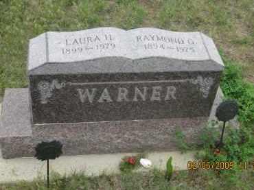 WARNER, LAURA H. - Fall River County, South Dakota | LAURA H. WARNER - South Dakota Gravestone Photos