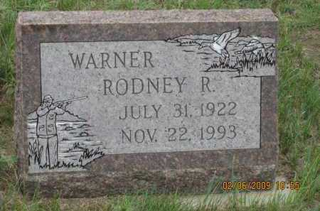 WARNER, RODNEY R. - Fall River County, South Dakota | RODNEY R. WARNER - South Dakota Gravestone Photos