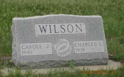 WILSON, CHARLES L. - Fall River County, South Dakota | CHARLES L. WILSON - South Dakota Gravestone Photos