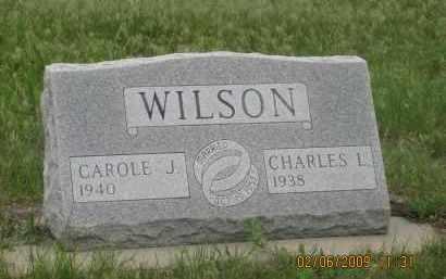 WILSON, CAROLE J. - Fall River County, South Dakota | CAROLE J. WILSON - South Dakota Gravestone Photos