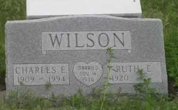 WILSON, RUTH E. - Fall River County, South Dakota   RUTH E. WILSON - South Dakota Gravestone Photos