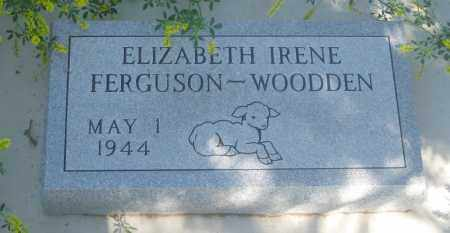 WOODEN, ELIZABETH IRENE - Fall River County, South Dakota | ELIZABETH IRENE WOODEN - South Dakota Gravestone Photos
