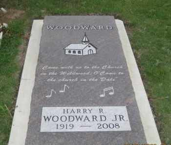 WOODWARD, HARRY  R.  JR. - Fall River County, South Dakota | HARRY  R.  JR. WOODWARD - South Dakota Gravestone Photos