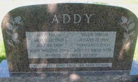 ADDY, NELLIE AMELIA - Gregory County, South Dakota | NELLIE AMELIA ADDY - South Dakota Gravestone Photos