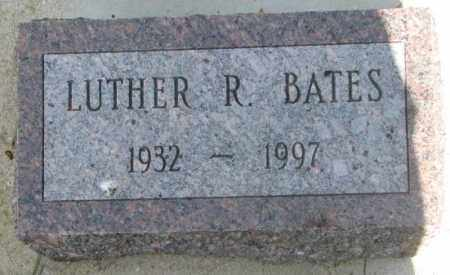 BATES, LUTHER R. - Gregory County, South Dakota   LUTHER R. BATES - South Dakota Gravestone Photos