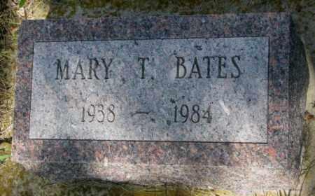 BATES, MARY T. - Gregory County, South Dakota | MARY T. BATES - South Dakota Gravestone Photos