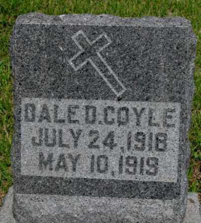 COYLE, DALE D. - Gregory County, South Dakota | DALE D. COYLE - South Dakota Gravestone Photos