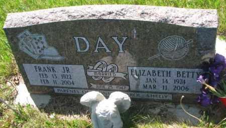 DAY, ELIZABETH BETTY - Gregory County, South Dakota   ELIZABETH BETTY DAY - South Dakota Gravestone Photos