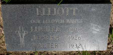 ELLIOTT, JOSEPH - Gregory County, South Dakota | JOSEPH ELLIOTT - South Dakota Gravestone Photos