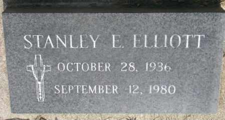 ELLIOTT, STANLEY E. - Gregory County, South Dakota | STANLEY E. ELLIOTT - South Dakota Gravestone Photos