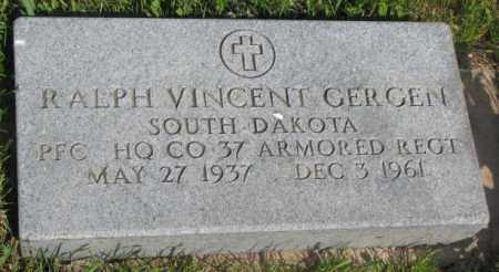 GERGEN, RALPH VINCENT - Gregory County, South Dakota | RALPH VINCENT GERGEN - South Dakota Gravestone Photos