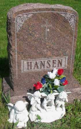 HANSEN, FAMILY PLOT MARKER - Gregory County, South Dakota | FAMILY PLOT MARKER HANSEN - South Dakota Gravestone Photos