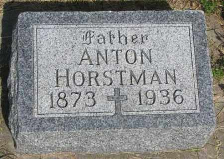 HORSTMAN, ANTON - Gregory County, South Dakota | ANTON HORSTMAN - South Dakota Gravestone Photos