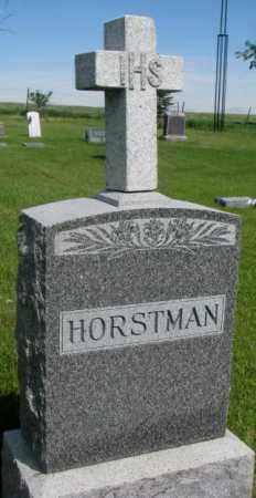 HORSTMAN, FAMILY PLOT MARKER - Gregory County, South Dakota | FAMILY PLOT MARKER HORSTMAN - South Dakota Gravestone Photos