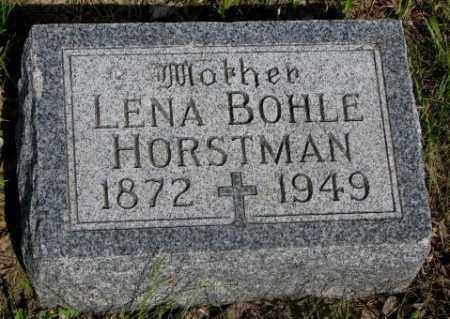 HORSTMAN, LENA - Gregory County, South Dakota | LENA HORSTMAN - South Dakota Gravestone Photos