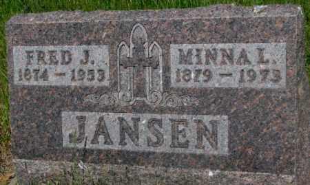 JANSEN, MINNA L. - Gregory County, South Dakota | MINNA L. JANSEN - South Dakota Gravestone Photos