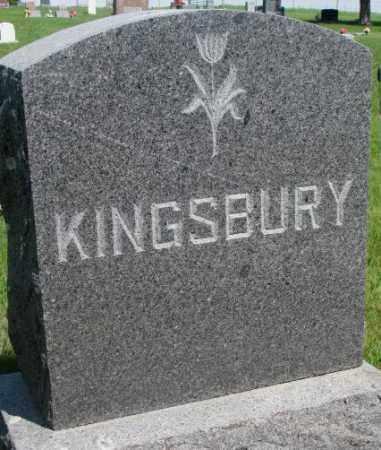 KINGSBURY, PLOT - Gregory County, South Dakota | PLOT KINGSBURY - South Dakota Gravestone Photos