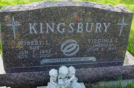 KINGSBURY, ROBERT L. - Gregory County, South Dakota | ROBERT L. KINGSBURY - South Dakota Gravestone Photos
