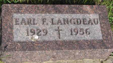 LANGDEAU, EARL F. - Gregory County, South Dakota | EARL F. LANGDEAU - South Dakota Gravestone Photos
