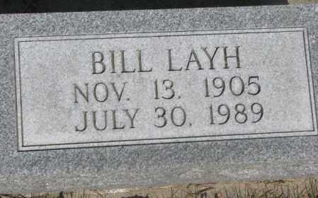 LAYH, BILL - Gregory County, South Dakota | BILL LAYH - South Dakota Gravestone Photos