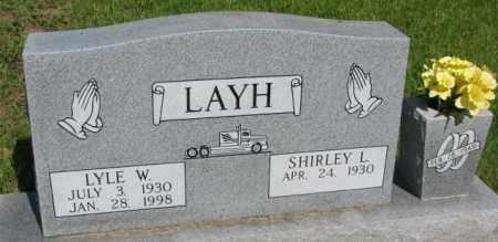 LAYH, LYLE W. - Gregory County, South Dakota | LYLE W. LAYH - South Dakota Gravestone Photos