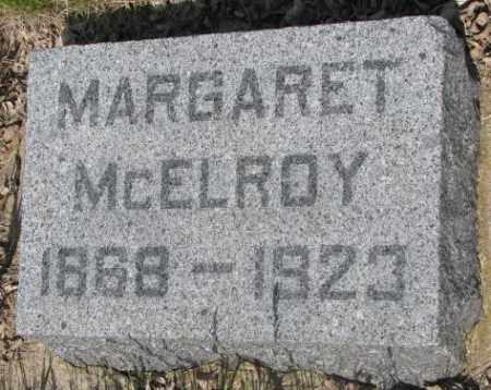 MCELROY, MARGARET - Gregory County, South Dakota | MARGARET MCELROY - South Dakota Gravestone Photos