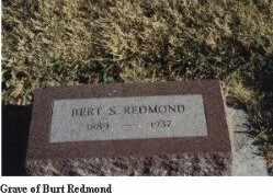 REDMOND, BERT - Gregory County, South Dakota | BERT REDMOND - South Dakota Gravestone Photos