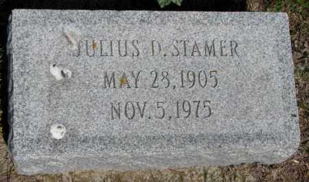 STAMER, JULIUS D. - Gregory County, South Dakota | JULIUS D. STAMER - South Dakota Gravestone Photos