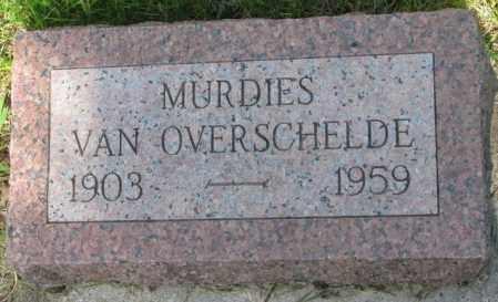 VAN OVERSCHELDE, MURDIES - Gregory County, South Dakota | MURDIES VAN OVERSCHELDE - South Dakota Gravestone Photos