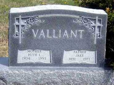 VALLIANT, JAKE - Haakon County, South Dakota | JAKE VALLIANT - South Dakota Gravestone Photos