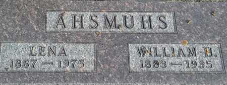 AHSMUHS, WILLIAM H - Hamlin County, South Dakota   WILLIAM H AHSMUHS - South Dakota Gravestone Photos