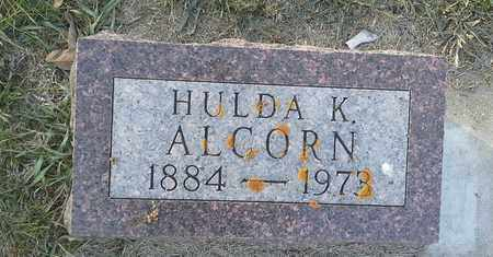 ALCORN, HULDA K - Hamlin County, South Dakota | HULDA K ALCORN - South Dakota Gravestone Photos