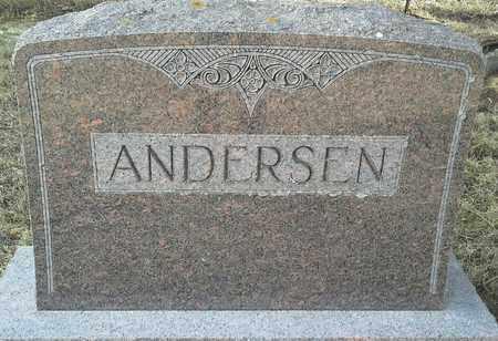 ANDERSEN, FAMILY STONE - Hamlin County, South Dakota | FAMILY STONE ANDERSEN - South Dakota Gravestone Photos