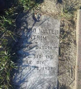 "ANTRIM, EDWARD WALTER ""MILITARY"" - Hamlin County, South Dakota   EDWARD WALTER ""MILITARY"" ANTRIM - South Dakota Gravestone Photos"